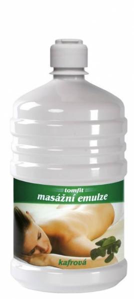 Masážní emulze TOMFIT - kafrová 1l