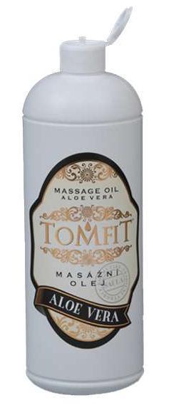Masážní olej TOMFIT - aloe vera 1l