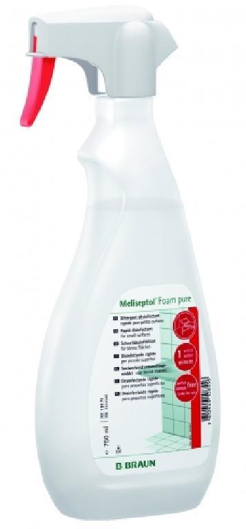MELISEPTOL FOAM PURE 750 ml