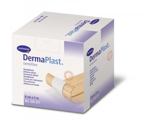 Náplast DermaPlast sensitiv 8cm x 5 m