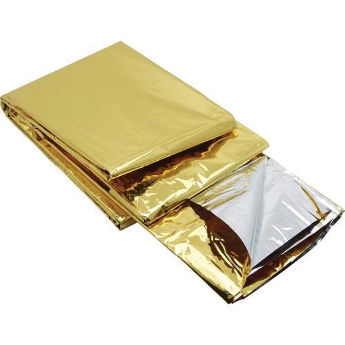 Fólie izotermická 1400x2000mm zlato/stříbrná